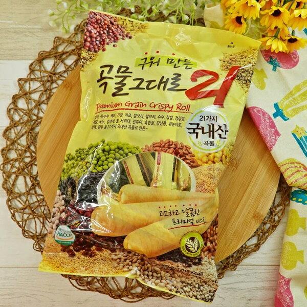 韓國21穀物棒 180g【8809010960227】(韓國零食) 0
