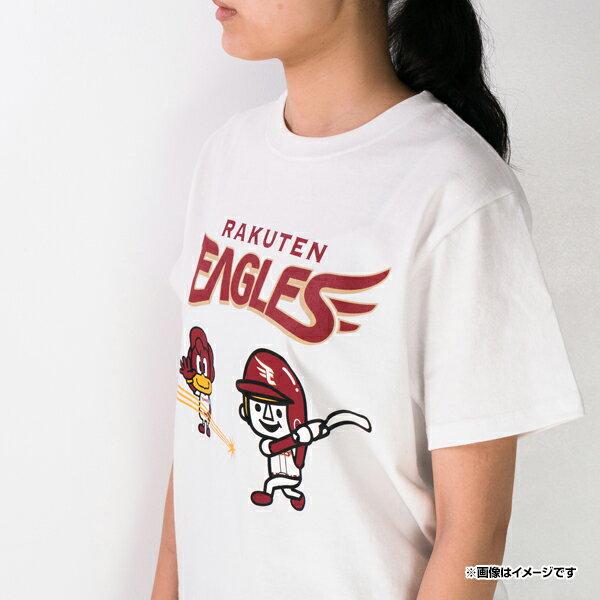 日本職棒 東北樂天金鷲隊  /  Laundry 聯名 T恤  /  白色  /  c0302887  /  日本必買 日本樂天直送  /  件件含運 4