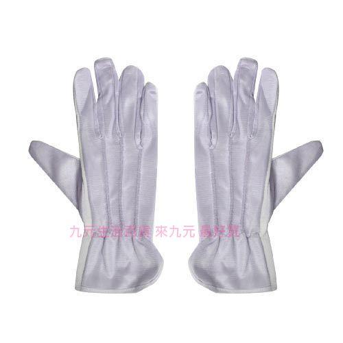 【九元生活百貨】 絨布止滑手套/淺紫 機車手套 防滑手套