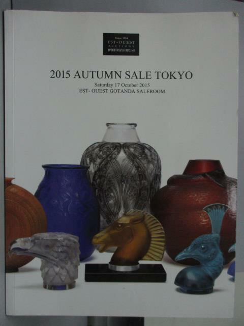 【書寶 書T8/收藏_XFZ】Est-Ouest 2015 Autumn Sale Tok