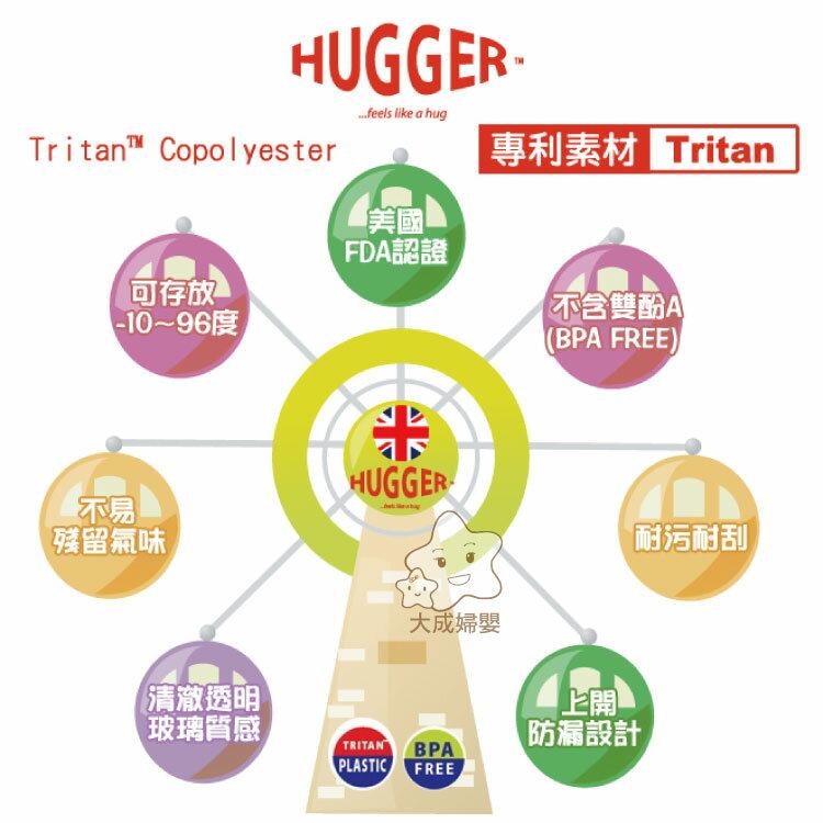 【大成婦嬰】英國 Hugger Tritan 彈跳吸管水壺350ml (隨機出貨) 2