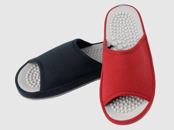 rubber anne:素色按摩拖鞋--QQ珍奶按摩顆粒