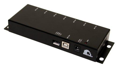 ㊣胡蜂正品㊣ Coolgear Metal 7-Port USB 2.0 Powered Slim Hub