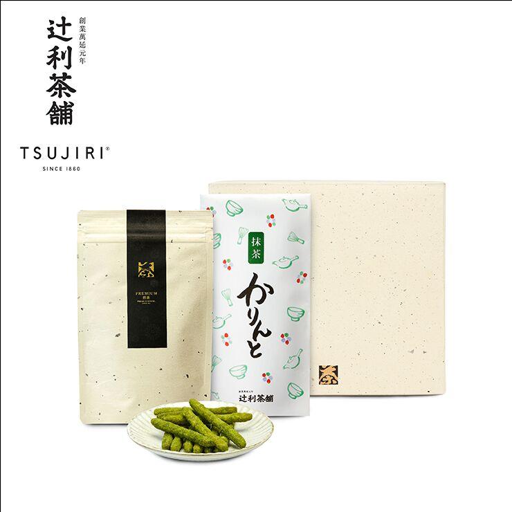 【辻利茶舗】日本茶茶點禮盒(品味冠茶茶包+抹茶花林糖)~八女高級綠茶搭配日本國民茶點~送禮自用兩相宜 - 限時優惠好康折扣