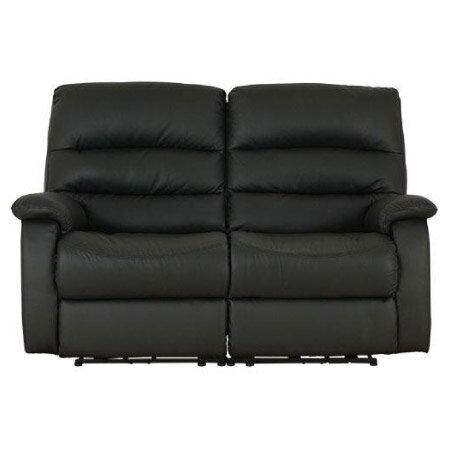 ◎全皮2人用頂級電動可躺沙發 BELIEVER2 BK NITORI宜得利家居 2
