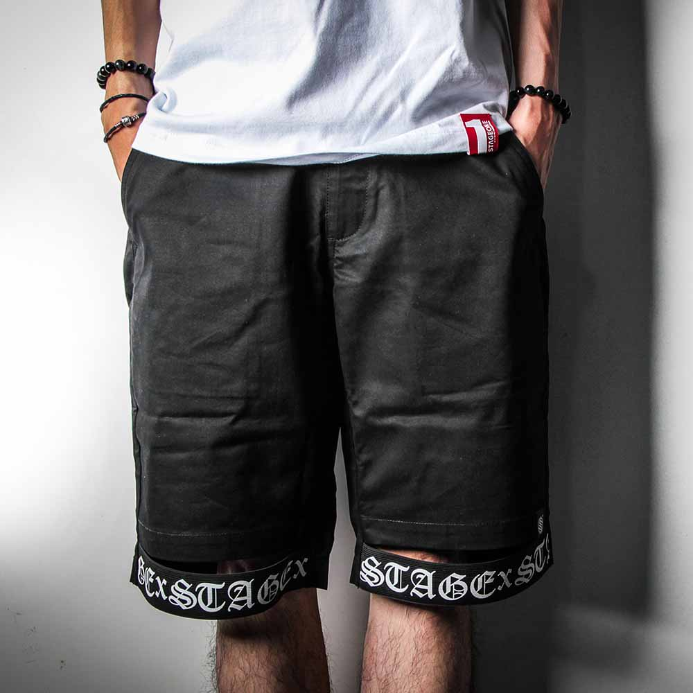 STAGE SC TAPES SWEAT SHORTS 黑色 0