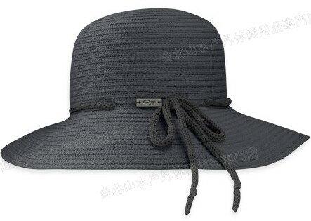 Outdoor Research 防曬透氣草帽/遮陽帽/圓盤帽 Isia OR80220 001 編織黑