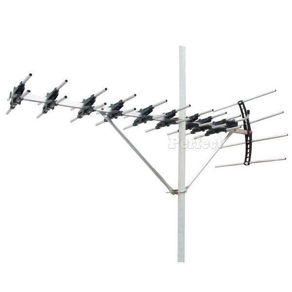 【PX ● 大通】UHF鋁合金24節超強數位電視天線王 UA-24  **免運費**