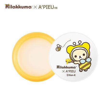 韓國 A #x27 PIEU 拉拉熊蜂蜜牛奶晚安唇膜 6.7g 護唇 唇膜 Rilakku