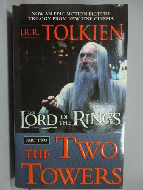 ~書寶 書T1/原文小說_KAK~The Lord of the Rings_the Tw