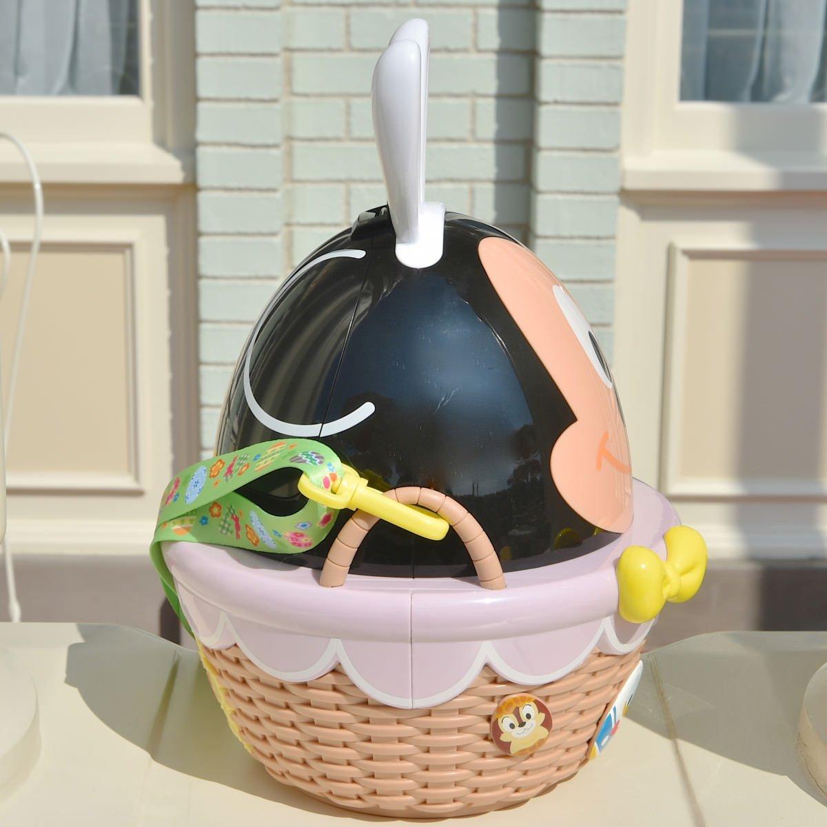 X射線【C141003】日本東京迪士尼代購-米奇Mickey 復活節彩蛋限定版造型爆米花桶,包包掛飾 / 鑰匙圈 / 置物桶 / 收納架 / 收納包 1
