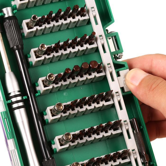 60 in 1 Multi-purpose Precision Screwdriver Set Tweezer Cell Phone Repair Tool 3