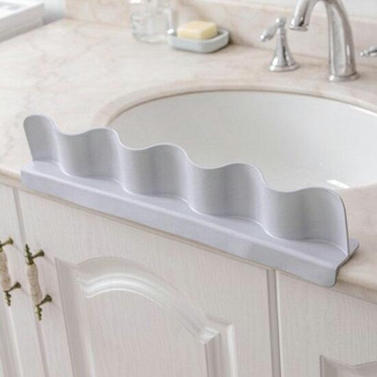●MYCOLOR●吸盤式防濺擋水板家用廚房水槽洗菜洗碗隔水擋板廚房用品防濺水【N449】