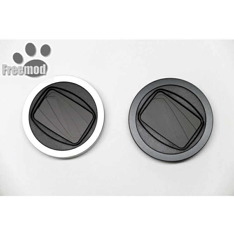 又敗家~ Freemod半自動鏡頭蓋X~CAP2鏡頭蓋43mm鏡頭蓋^(黑色  銀色^)4