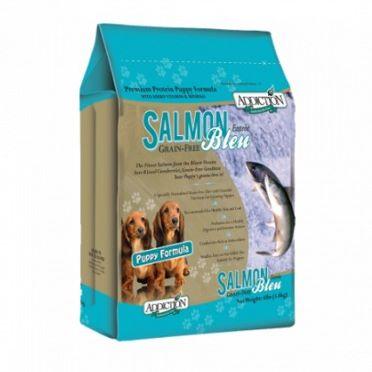 ?Double妹寵物?自然癮食Addiction無穀乾糧 幼犬藍鮭魚【9kg】