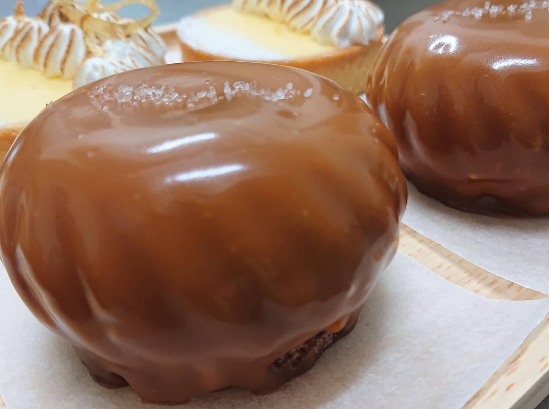 海鹽焦糖巧克力蛋糕  Sea Salt Caramel Chocolate Mousse (3吋蛋糕)