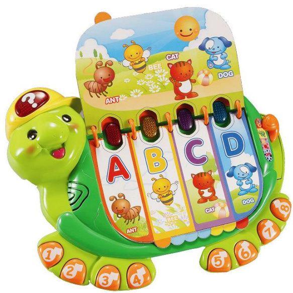 《英國 Vtech》 嬰幼兒系列 海龜寶寶字母學習書 東喬精品百貨
