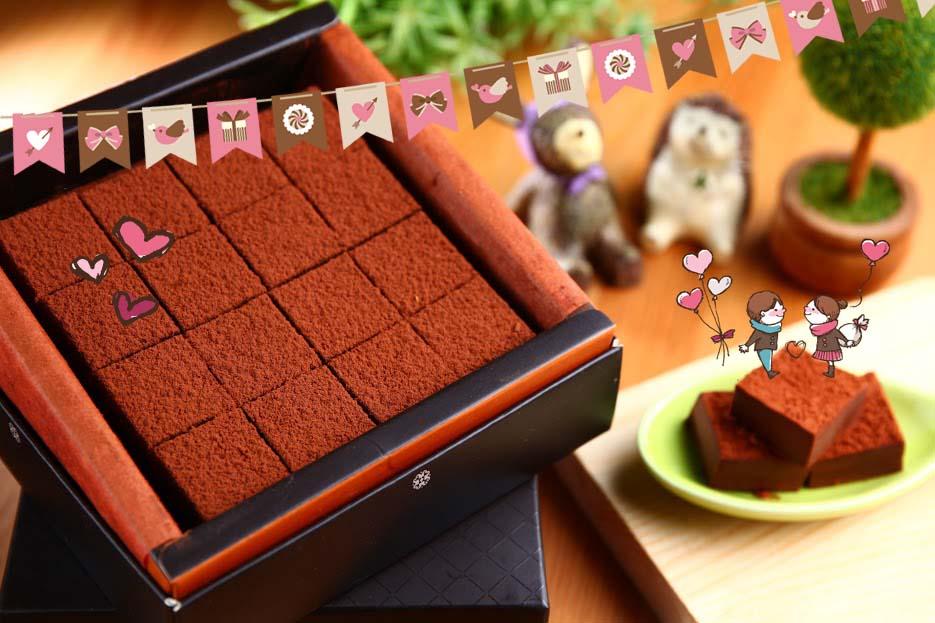 【生巧克力】情人節首選 心情救世主 92%/伯爵茶/橙香 3種口味  嚴選比利時嘉麗寶頂級巧克力 + 法國進口酒 奶素 16入 110克±5%/盒 0