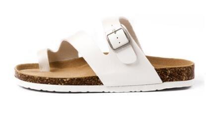 FINDSENSE MD 韓國 休閒 時尚 男  圓頭 套趾 軟木 沙灘涼鞋 拖鞋 學生涼鞋