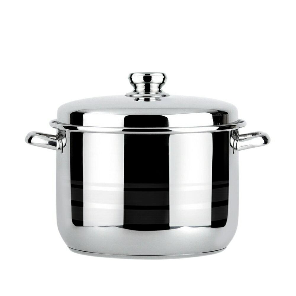 【潔豹】歐洲鍋  [雙耳] / 26H / 9.0L / 304不鏽鋼 / 湯鍋