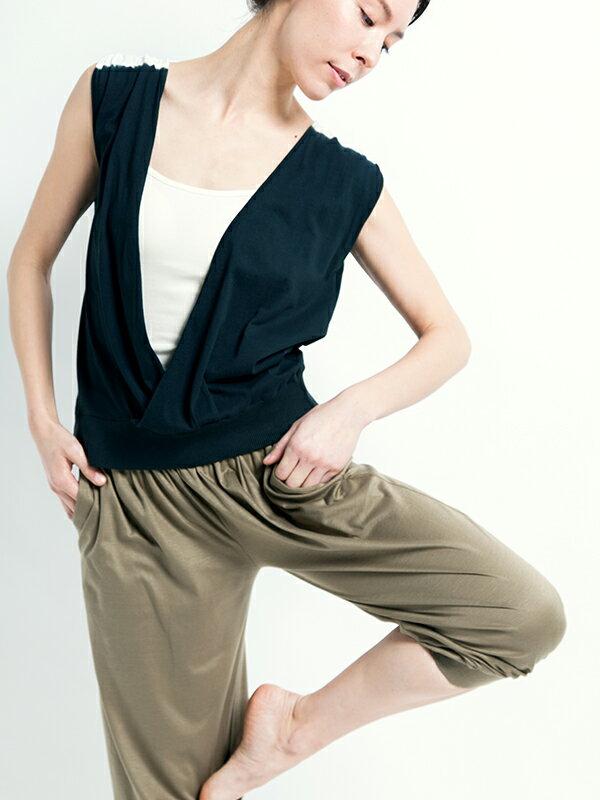 【Bali】100%有機棉Gillet短罩衫 4