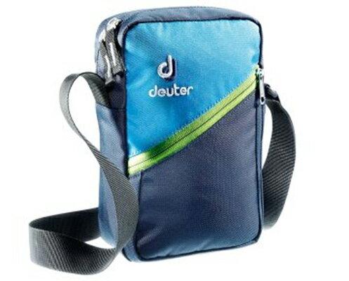 【鄉野情戶外專業】 Deuter |德國| Escape II休閒旅遊隨身輕便側背包貼身肩背包2L/-深藍/藍 85113