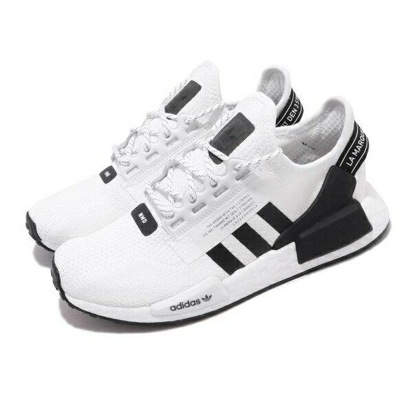 【滿額↘再折$150】【ADIDAS】NMD_R1.V2 白色/黑色 BOOST 休閒 運動 慢跑鞋 男女款 FV9022(palace store)
