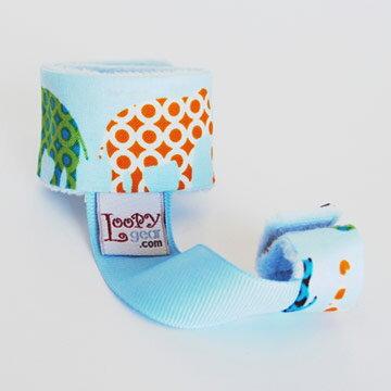 ★衛立兒生活館★美國Loopy Gear 安撫玩具手腕帶-非洲動物園