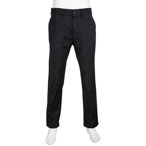 Burberry-Mens-Black-Cotton-Chino-Pants-Brand-Size-50-US-Size-40-