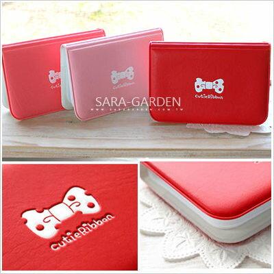 韓系 浪漫 蝴蝶結 輕巧 卡包 證件夾 名片夾 車票夾 信用卡夾 Sara Garden 【A04010032】