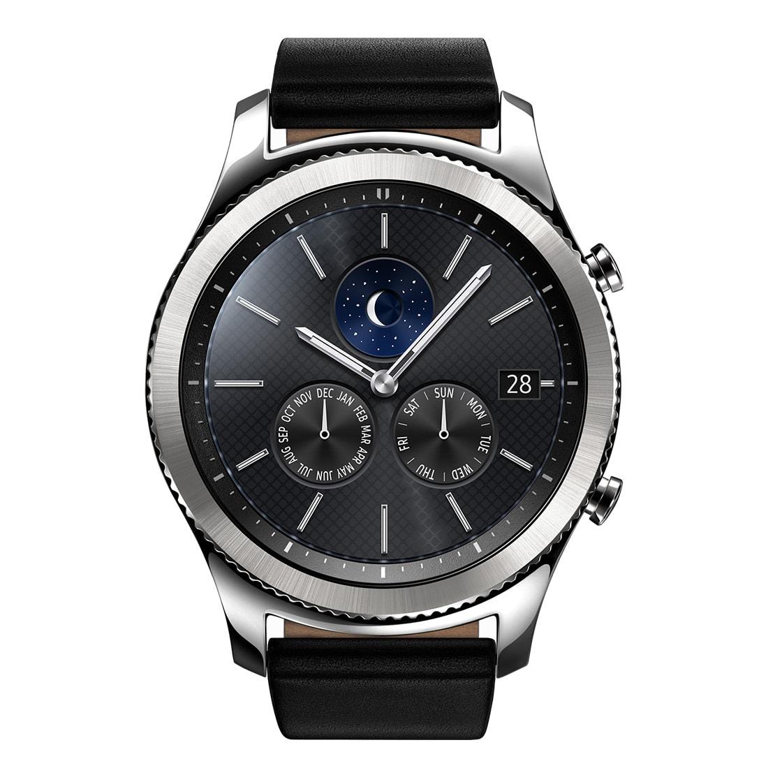 三星 SAMSUNG Gear S3 Classic 智慧手錶/穿戴配件/內建麥克風/IP68 防水防塵【馬尼行動通訊】