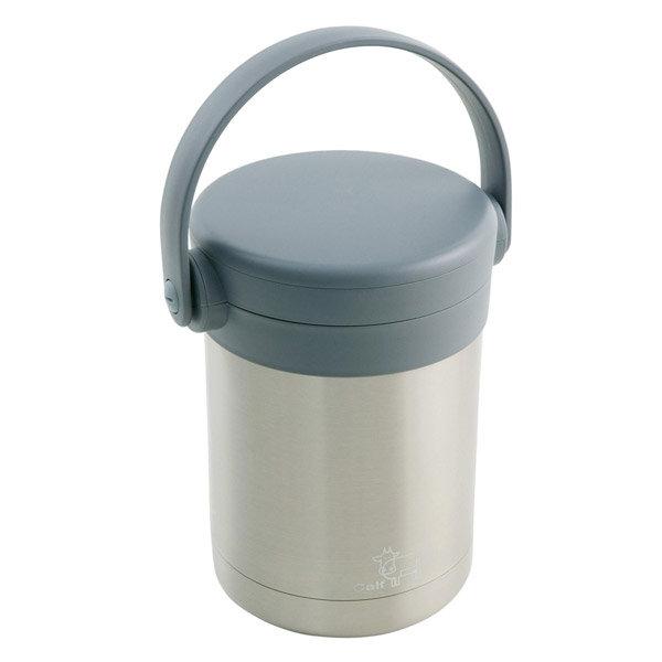 【牛頭牌】小牛燜燒保溫提鍋2L(灰色)-促