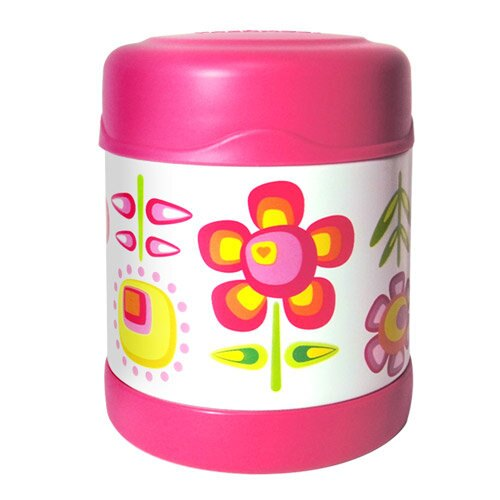 膳魔師0.3L小花兒不鏽鋼真空食物罐 F3001FFP6(限量促銷)