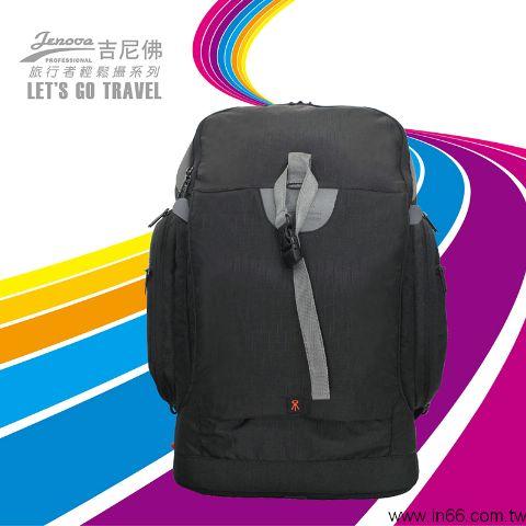 [滿3千,10%點數回饋]JENOVA吉尼佛TRAVELER 757-1(附防雨罩)旅行者輕鬆攝影背包 英連公司貨 1