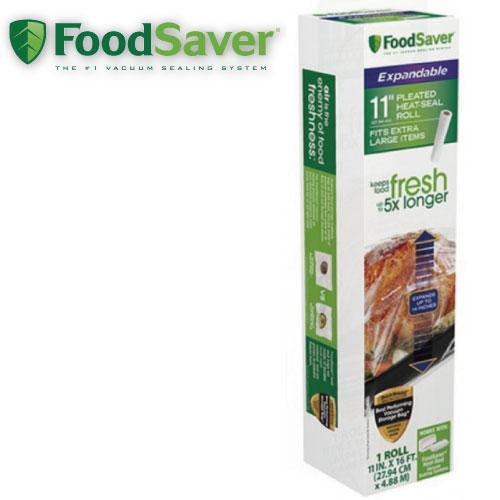 FoodSaverFSFSBFEX616真空加大立體卷1入裝(11吋)真空包裝機