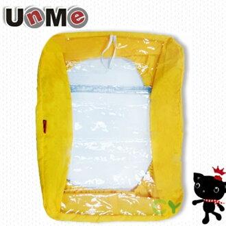 X射線【Cyy1528】UnMe後背書包雨衣套(黃色)1528台灣製造,開學必備/兒童書包/雙肩包