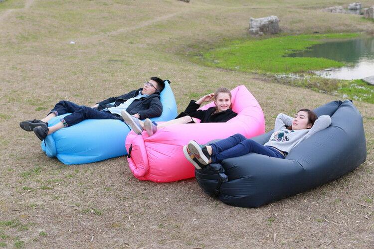 充氣沙發懶人床 充氣沙灘床 水上浮床