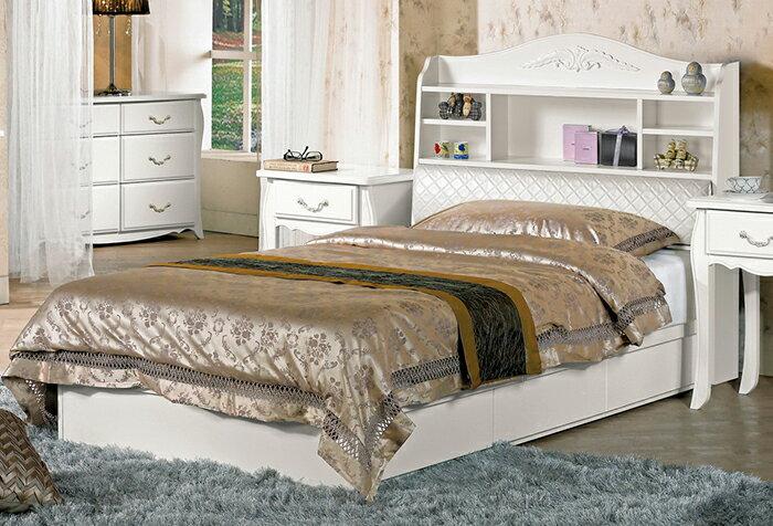 【尚品家具】CM-611-1 仙朵拉3.5尺被櫥式單人床(不含床墊)