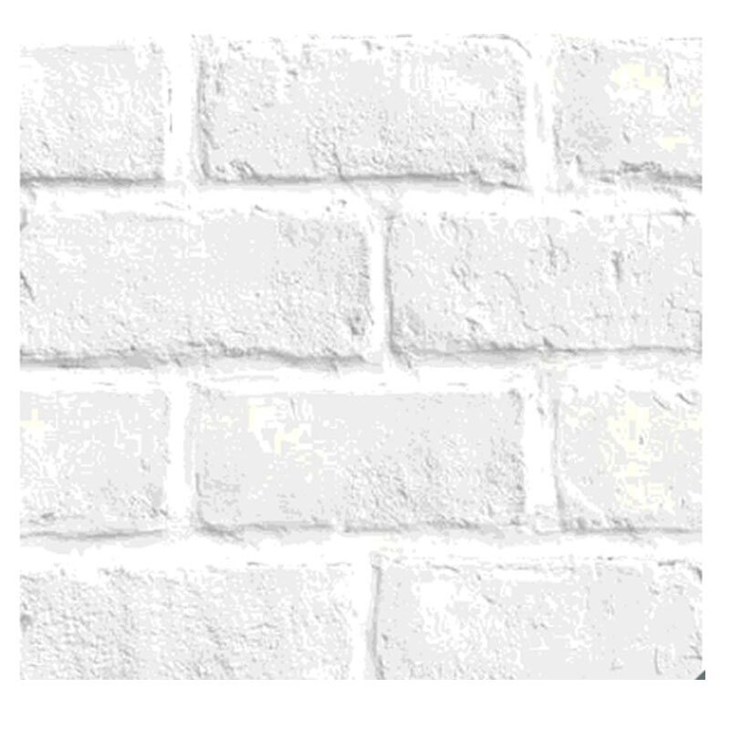 [COSCO代購] W116651 U2 韓國高擬真水貼自黏壁紙62入-白磚