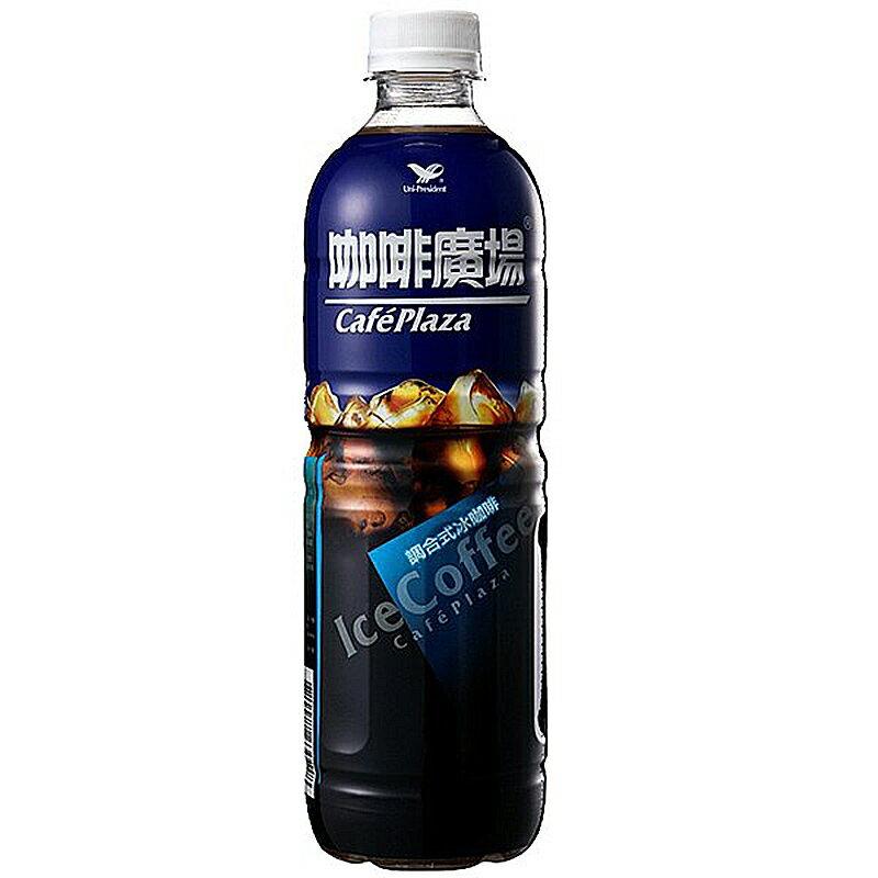 統一 咖啡廣場 調合式冰咖啡 600ml【康鄰超市】