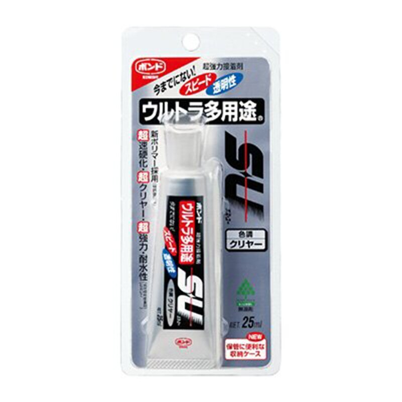 KONISHI 日本 小西 SU CLEAR 04592 多用途萬用透明接著劑 25ml /支