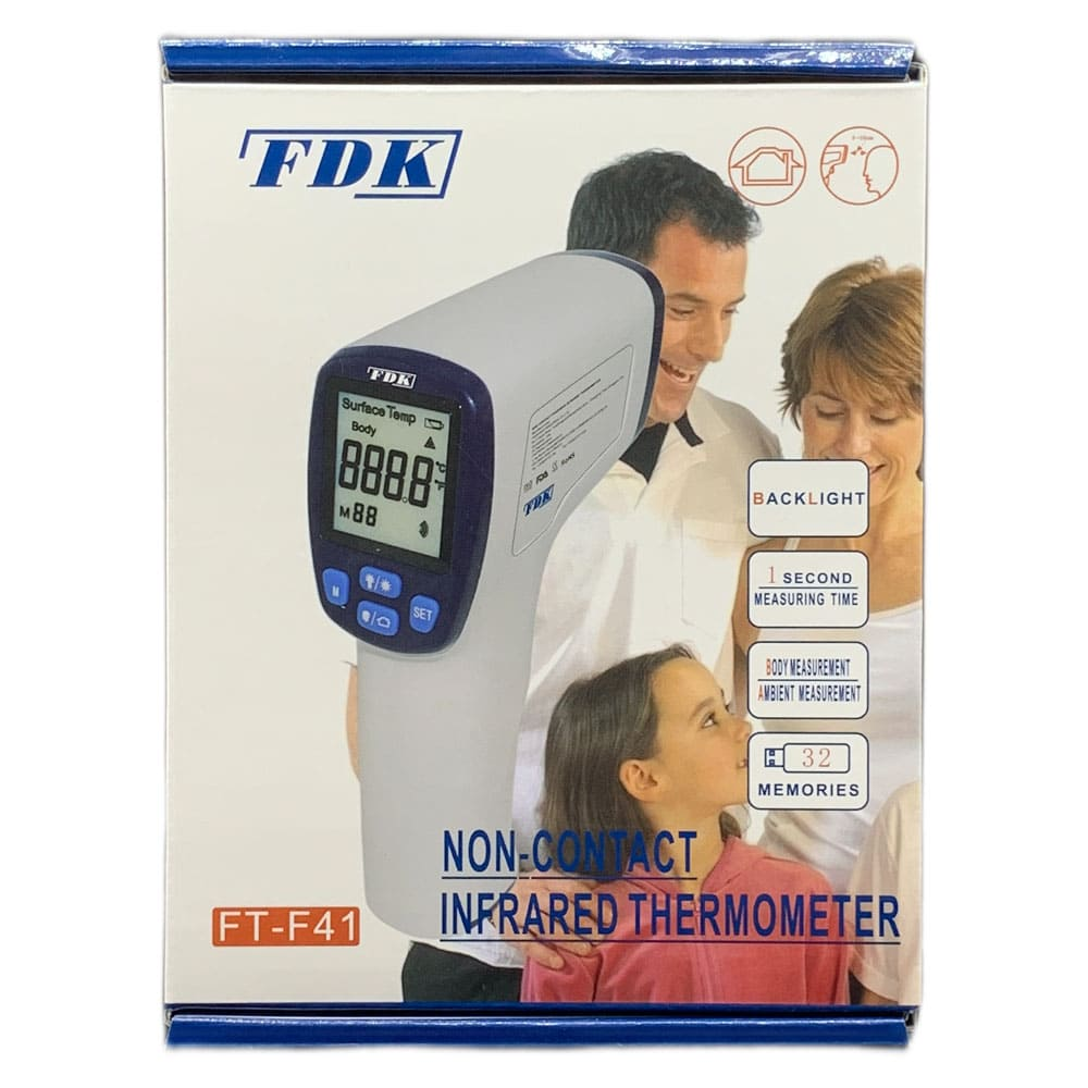 FDK 福達康 額溫槍 FT-F41 紅外線體溫計 電子體溫計 額溫槍