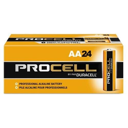 Duracell Multipurpose Battery - 2100 mAh - AA - Alkaline - 1.5 V DC - 24 / Box