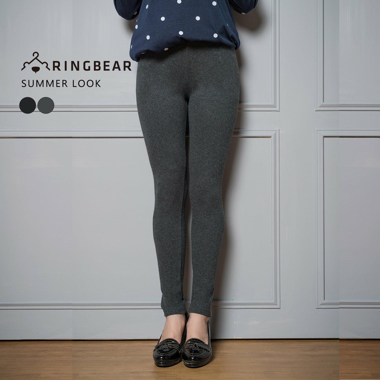 內搭褲---性感褲管金蔥拉鍊刺繡極貼身彈性九分褲(黑.灰XL-3L)-R191眼圈熊中大尺碼 1