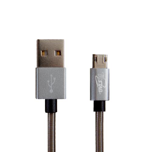 Micro USB 雙面插鋁合金1M 高速充電傳輸線 T.C.STAR (TCW-D1100)