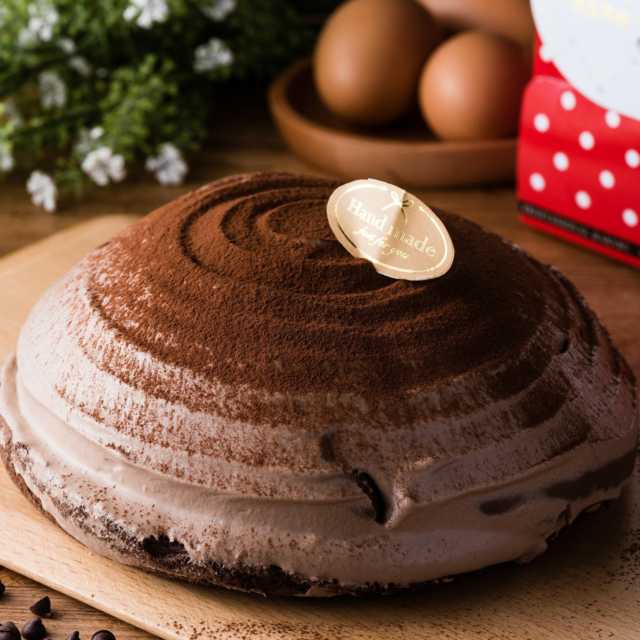 Mu Sweets 生乳系 朱古力波士頓派6吋★樂天蛋糕節滿499免運