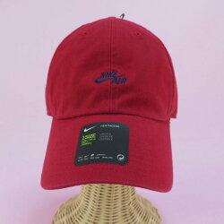 【iSport愛運動】NIKE AIR H86 CAP 魔鬼氈 棒球帽  可調 891289687 紅X藍LOGO