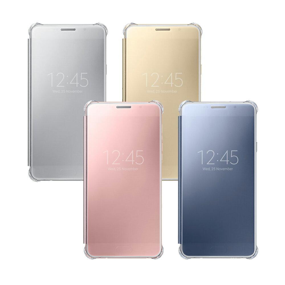 皮套 SAMSUNG A7 ^(2016^) 全透視感應皮套 手機殼 翻頁式皮套 側掀皮套