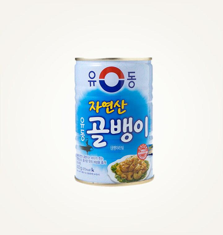韓國 螺肉罐頭 400g