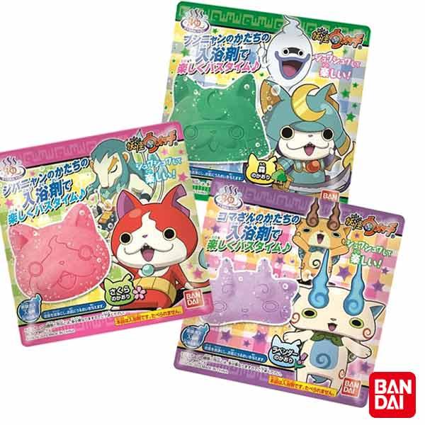 【奇買親子購物網】BANDAI 妖怪手錶入浴劑/隨機出貨